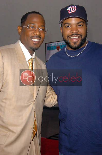 Martin Lawrence and Ice Cube <br />