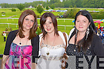 Laura Brady, Karen O'Hare and Sinead Roche Killarney having fun at the Killarney Races on Monday
