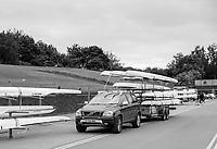 Nottingham. United Kingdom. <br /> <br /> Boat Trailer, GB Masters Championships, National Water Centre, Holme Pierrepont<br /> <br /> Saturday   10/06/2017<br /> <br /> <br /> [Mandatory Credit Peter SPURRIER/Intersport Images]