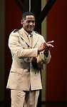 """Blair Underwood During the Broadway Opening Night Curtain Call Bows for The Roundabout Theatre Company's """"A Soldier's Play""""  at the American Airlines Theatre on January 21, 2020 in New York City."""