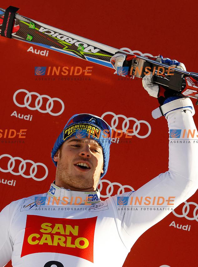 19.12.2011, Gran Risa, Alta Badia.Slalom Speciale. .Giuliano Razzoli (ITALIA) secondo classificato .Foto  Insidefoto / J primoz / Panoramic