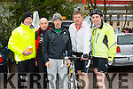 The Kerry crusaders cycling club members in association with Orbis scenic challenge on Sunday .Pictured are Brendan Brosnan, Mickey Waterbake,Mike Cahill,Ted Ahern and Paul Collins