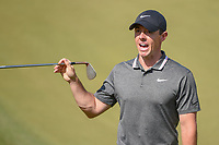 Rory McIlroy (NIR) asks the marshalls where his ball initially hit before running into the trap during day 1 of the WGC Dell Match Play, at the Austin Country Club, Austin, Texas, USA. 3/27/2019.<br /> Picture: Golffile | Ken Murray<br /> <br /> <br /> All photo usage must carry mandatory copyright credit (© Golffile | Ken Murray)