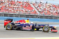 23.06.2012. Valencia, Spain. FIA Formula One World Championship 2012 Grand Prix of Europe Qualifying Session.  Sevastian Vettel (German driver of Red Bull)