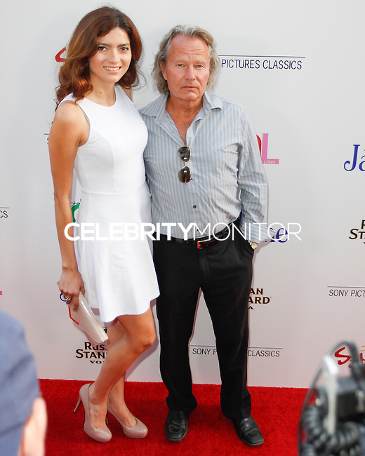 BEVERLY HILLS, CA - JULY 24: Blanca Blanco and John Savage attend the premiere of 'Blue Jasmine' hosted by the AFI & Sony Picture Classics at the AMPAS Samuel Goldwyn Theater on July 24, 2013 in Beverly Hills, California. (Photo by Celebrity Monitor)