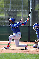 Ti'Quan Forbes - Texas Rangers 2016 spring training (Bill Mitchell)