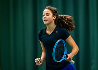 Wateringen, The Netherlands, December 4,  2019, De Rhijenhof , NOJK 14 and18 years, Loes Ebbeling Koning (NED)<br /> Photo: www.tennisimages.com/Henk Koster