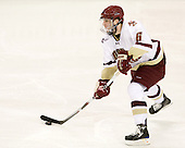 Patrick Wey (BC - 6) - The Boston College Eagles defeated the visiting Boston University Terriers 5-2 on Saturday, December 4, 2010, at Conte Forum in Chestnut Hill, Massachusetts.