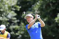 Soren Kjeldsen (DEN) tees off the 14th tee during Thursday's Round 1 of the 2017 PGA Championship held at Quail Hollow Golf Club, Charlotte, North Carolina, USA. 10th August 2017.<br /> Picture: Eoin Clarke | Golffile<br /> <br /> <br /> All photos usage must carry mandatory copyright credit (&copy; Golffile | Eoin Clarke)