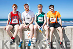 Enjoying the 2017  Ballyheigue, Half on the Head & 10km Run on Saturday were Bryan Smith, Gerard Smith, Cathal Smith and Adrian Mcnamee