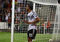 Leroy Sane (Deutschland Germany) bekam zwei Tore aberkannt - 11.06.2019: Deutschland vs. Estland, OPEL Arena Mainz, EM-Qualifikation DISCLAIMER: DFB regulations prohibit any use of photographs as image sequences and/or quasi-video.
