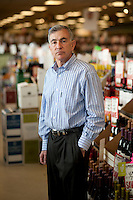 President of Applejack liquor store Jim Shpall (cq) at their store in Wheatridge, Colorado, Thursday, May 26, 2011. ..Photo by Matt Nager