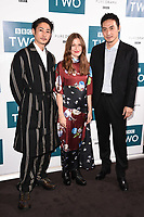"Yosuke Kubozuka, Kelly MacDonald and Takehiro Hira<br /> arriving for the"" GIRI/HAJI"" screening at the Curzon Bloomsbury, London<br /> <br /> ©Ash Knotek  D3521 25/09/2019"