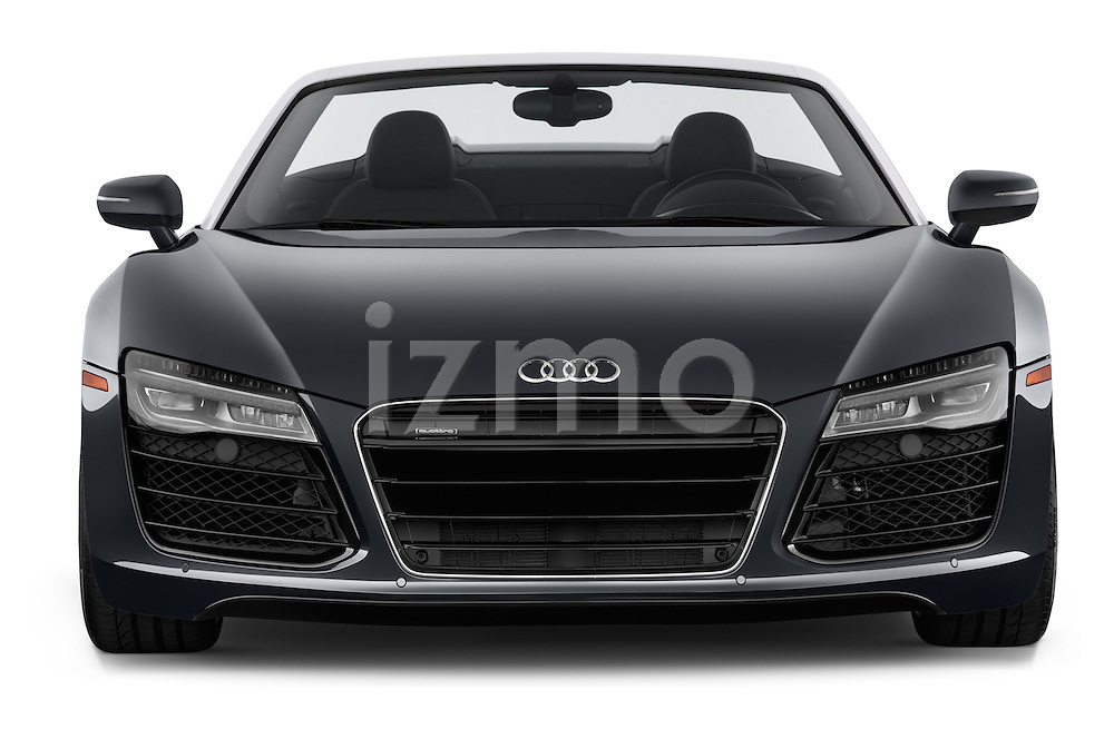 2014 Audi R8 Spyder Convertible Front View