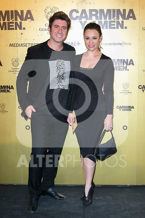 "Spanish actress Natalia Verbeke attend the Premiere of the movie ""Carmina y Amen"" at the Callao Cinema in Madrid, Spain. April 28, 2014. (ALTERPHOTOS/Carlos Dafonte)"