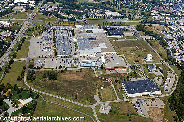 aerial photograph commercial real estate Lexington, Kentucky