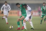 Iraq vs Jordan during the AFC U23 Championship China 2018 Group C match at Changshu Sports Center on 16 January 2018, in Changshu, China. Photo by Yu Chun Christopher Wong / Power Sport Images