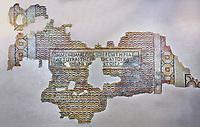 Roman mosaics - Oylum Hoyuk  Mosaic. 4th century AD . Zeugma Mosaic Museum, Gaziantep, Turkey.
