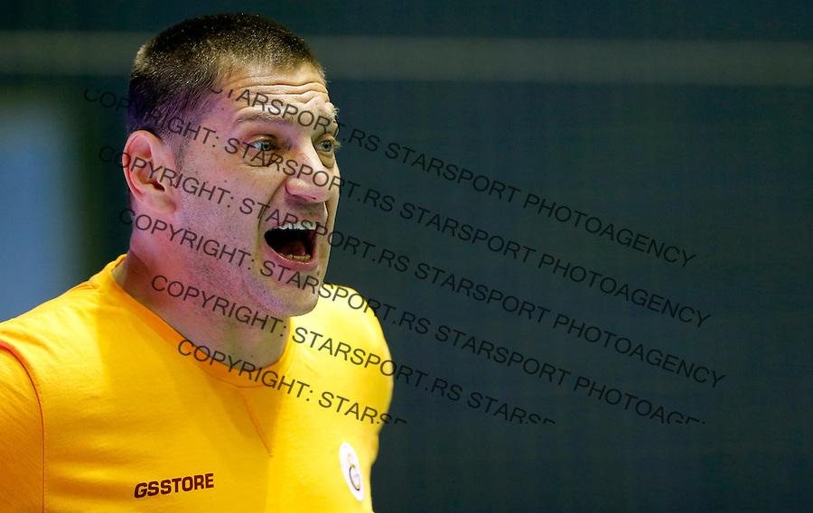 Igor Milanovic Partizan Galatasaraj liga sampiona vaterpolo, 28.11.2015. (credit image & photo: Pedja Milosavljevic / STARSPORT)