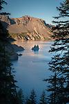 Phantom Ship from Phantom Ship Overlook at Crater Lake NP