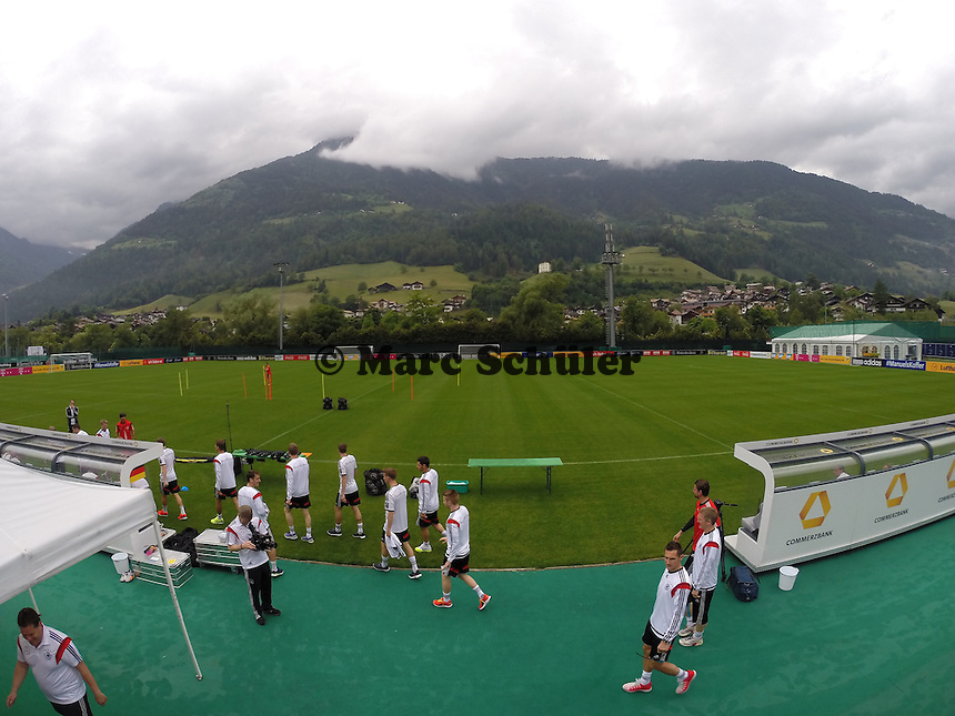 - Trainingslager der Deutschen Nationalmannschaft zur WM-Vorbereitung in St. Martin