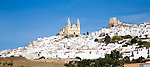 Whitewashed town of Olvera, Cadiz Province, Andalusia, Spain