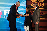 Clifford Luyk during the 80th Aniversary of the National Basketball Team at Melia Castilla Hotel, Spain, September 01, 2015. <br /> (ALTERPHOTOS/BorjaB.Hojas) / NortePhoto.Com