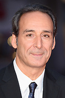 Composer Alexandre Desplat at the London Film Festival 2017 screening of &quot;The Shape of Water&quot; at the Odeon Leicester Square, London, UK. <br /> 10 October  2017<br /> Picture: Steve Vas/Featureflash/SilverHub 0208 004 5359 sales@silverhubmedia.com