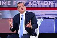 National Harbor, MD - February 22, 2018: U.S. Senator Ted Cruz participates in a discussion during the Conservative Political Action Conference (CPAC) at the Gaylord National Hotel in National Harbor, MD, February 22, 2018  (Photo by Don Baxter/Media Images International)