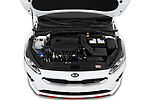 Car Stock 2019 KIA Proceed GT 5 Door Wagon Engine  high angle detail view