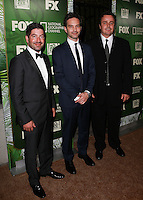 LOS ANGELES, CA, USA - AUGUST 25: James S. Levine, Jeff Russo, Sean C at the FOX, 20th Century FOX Television, FX Networks And National Geographic Channel's 2014 Emmy Award Nominee Celebration held at Vibiana on August 25, 2014 in Los Angeles, California, United States. (Photo by David Acosta/Celebrity Monitor)