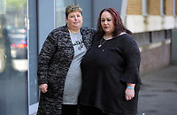 "Pictured: The parents of Nyah James L-R Susan and Domininique Williams, outside Swansea Magistrates Court. Tuesday 02 May 2017<br /> Re: A man who sent abusive messages to girls he believed had bullied his late sister has been spared jail by a judge, who said he had been ""irrational with grief"".<br /> Jordan Clements' 14-year-old sister Nyah James was found dead at her home in Blaenymaes, Swansea, in February.<br /> Swansea Magistrates' Court heard Clements later targeted four girls.<br /> The 20-year-old pleaded guilty to two counts of harassment and two counts of sending offensive communications.<br /> Clements was ordered to complete a 125-hour community order as well as 15 days of rehabilitation.<br /> District Judge Neale Thomas said he could have sent Clements to prison because of the targeted and frightening online messages he sent to his four victims, which the court heard were abusive and threatening.<br /> However, Judge Thomas said the defendant had become ""irrational with grief"" following Nyah's death."