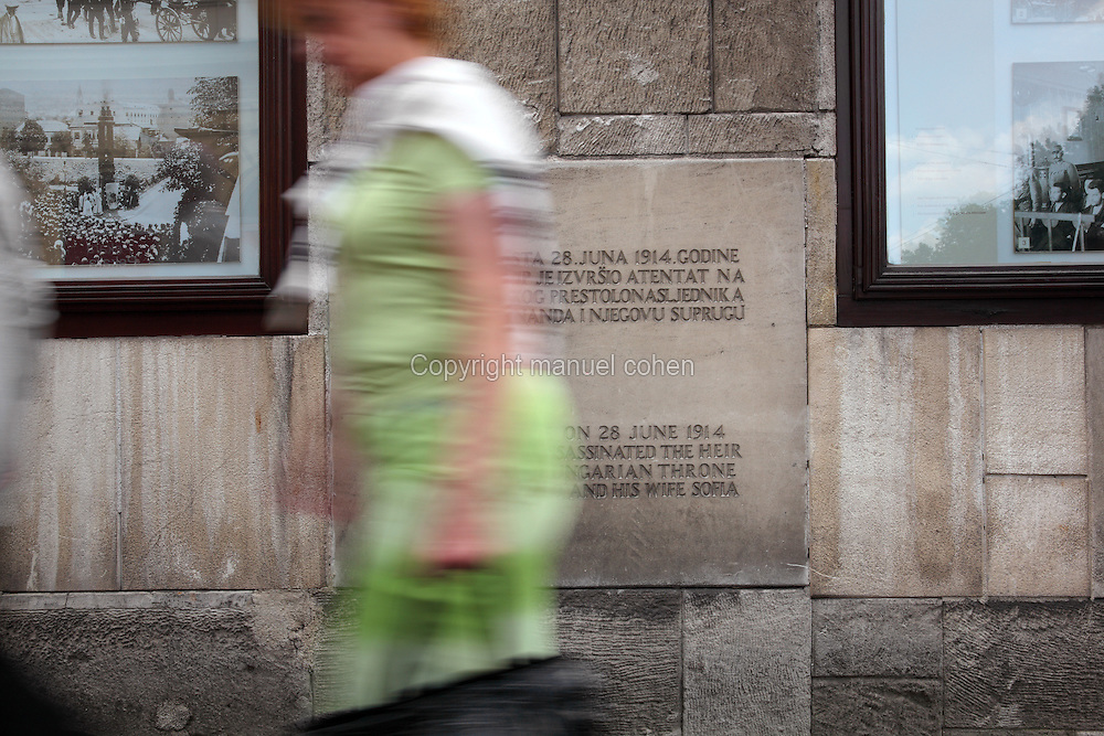 Plaque Museum Of The Assassination Of Franz Ferdinand