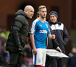 Mark Warburton and Billy King