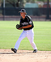 Erik Wetzel / Colorado Rockies 2008 Instructional League..Photo by:  Bill Mitchell/Four Seam Images