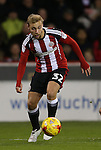 Harry Chapman of Sheffield Utd during the English League One match at the Bramall Lane Stadium, Sheffield. Picture date: November 19th, 2016. Pic Simon Bellis/Sportimage