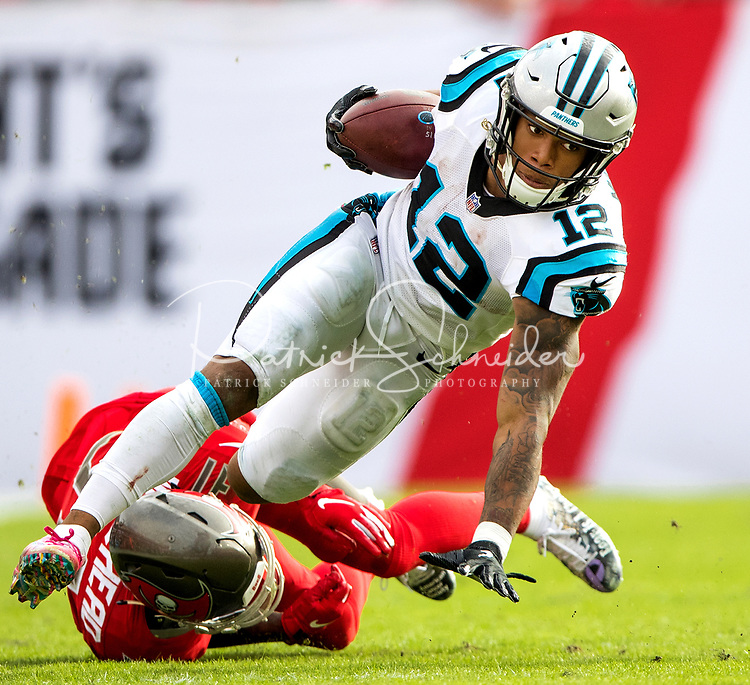 Photography of the Carolina Panthers v. The Tampa Bay Buccaneers at Raymond James Stadium in Tampa, Florida.<br /> <br /> Charlotte Photographer - PatrickSchneiderPhoto.com
