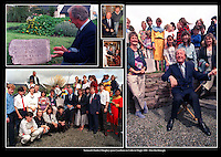 Charles Haughey opens the Ceardlann na Coilte in Dingle in 1990.<br /> Picture: Don MacMonagle - macmonagle archive<br /> e: info@macmonagle.com