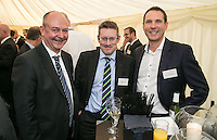 Left to right are Chris Radford of Gateley Plc, Eddie Williams of Grant Thornton and Rob Russell of PricewaterhouseCoopers