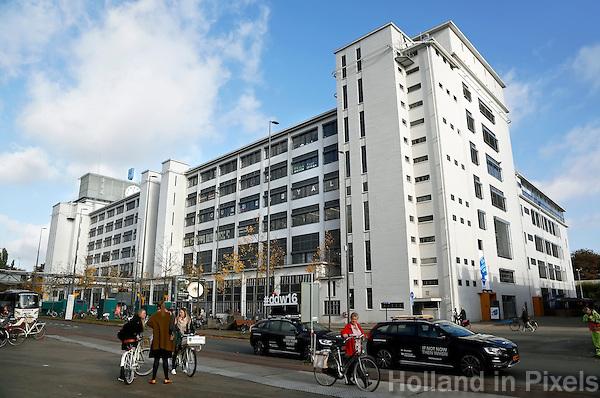 Nederland Eindhoven 2016. Het Klokgebouw bij Strijp-S. Foto Berlinda van Dam / Hollandse Hoogte