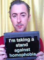 Alan Cumming backs homophobia campaign