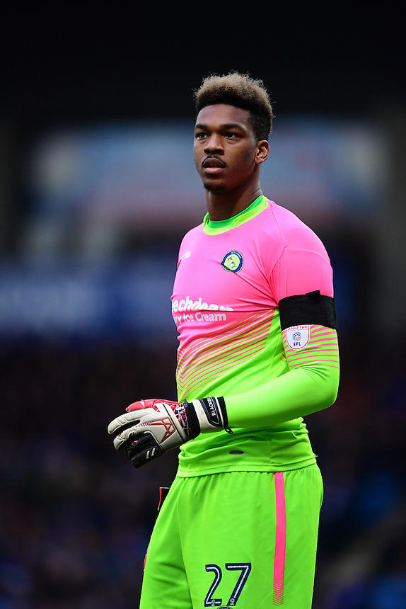 Wycombe Wanderers' Jamal Blackman<br /> <br /> Photographer Chris Vaughan/CameraSport<br /> <br /> The Emirates FA Cup Second Round - Chesterfield v Wycombe Wanderers - Saturday 3rd December 2016 - Proact Stadium - Chesterfield<br />  <br /> World Copyright &copy; 2016 CameraSport. All rights reserved. 43 Linden Ave. Countesthorpe. Leicester. England. LE8 5PG - Tel: +44 (0) 116 277 4147 - admin@camerasport.com - www.camerasport.com