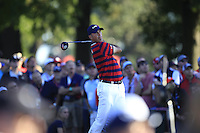 Matt Kuchar (Team USA) on the 16th tee during Saturday afternoon Fourball at the Ryder Cup, Hazeltine National Golf Club, Chaska, Minnesota, USA.  01/10/2016<br /> Picture: Golffile | Fran Caffrey<br /> <br /> <br /> All photo usage must carry mandatory copyright credit (&copy; Golffile | Fran Caffrey)