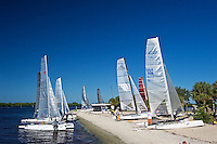 WSB- Port Charlotte Beach Park - Catamaran Staging & Race's Social Event, Port Charlotte FL 10 15