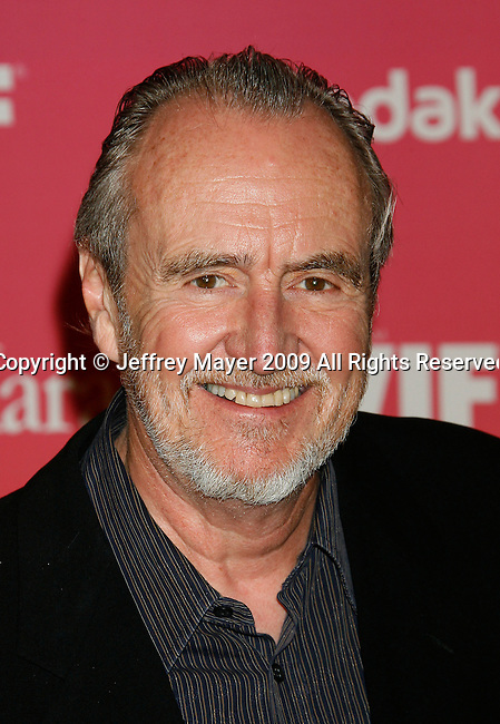 CENTURY CITY, CA. - June 12: Wes Craven  arrives at Women In Film's 2009 Crystal + Lucy Awards held at the Hyatt Regency Century Plaza on June 12, 2009 in Century City, California.