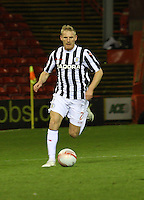 Gary Teale in the Aberdeen v St Mirren Scottish Communities League Cup match played at Pittodrie Stadium, Aberdeen on 30.10.12.