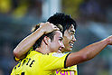 Mario Gotze, Shinji Kagawa (Dortmund), AUGUST 5, 2011 - Football / Soccer : Bundesliga match between Borussia Dortmund 3-1 Hamburger SV at Signal Iduna Park in Dortmund, Germany. (Photo by D.Nakashima/AFLO) [2336]