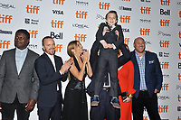 09 September 2018 - Toronto, Ontario, Canada -  Aaron Paul, Sienna Miller, Christina Hendricks, Aidan McGraw. &quot;American Woman'&quot; Premiere during 2018 Toronto International Film Festival at Princess of Wales Theatre. <br /> CAP/ADM/BPC<br /> &copy;BPC/ADM/Capital Pictures