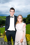 Enjoying the Colaiste na Sceilge Debutante Ball at Ballyroe Heights Hotel on Tuesday were Senan Lynch and Ciara Sugrue