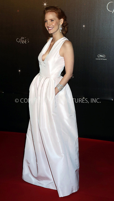 WWW.ACEPIXS.COM . . . . .  ..... . . . . US SALES ONLY . . . . .....May 16 2012, Cannes....Jessica Chastain at the Cannes Film Festival opening Gala on May 16 2012 in Cannes, France....Please byline: FAMOUS-ACE PICTURES... . . . .  ....Ace Pictures, Inc:  ..Tel: (212) 243-8787..e-mail: info@acepixs.com..web: http://www.acepixs.com